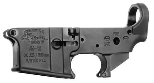 10 x Anderson Mfg Stripped Lower Receivers