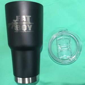 Fat Boy Tumbler 32oz Black