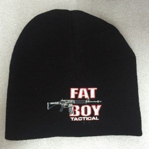 Fat Boy Knit Cap Black