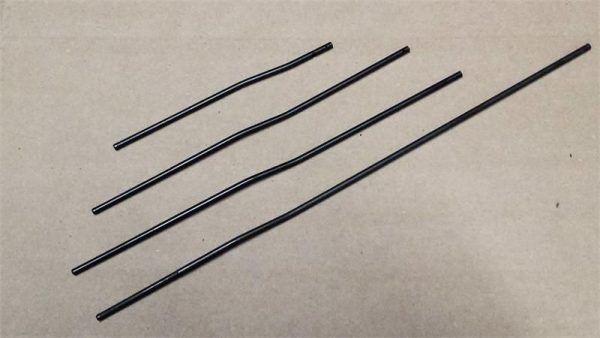 Mid Length Gas Tube w/ pin Nitride Black