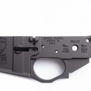 Spike's Tactical CRUSADER Stripped Lower Receiver w/ Integral Tr
