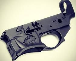 Spike's Warthog Stripped Billet Lower Receiver